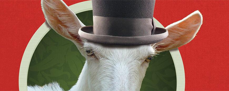 De goochelaar de geit en ik